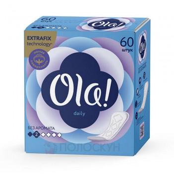 Щоденні прокладки Без запаху Ola