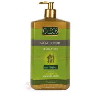 Гель для душу та піна для ванної з олією оливи Oleos