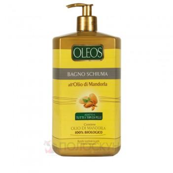 Гель для душу та піна для ванної з олією мигдалю Oleos