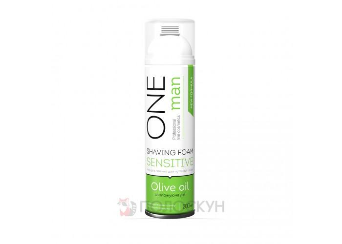 Піна для гоління з оливковою олією One Man
