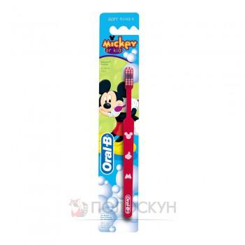 Зубна щітка для дтіей Міккі Oral-B