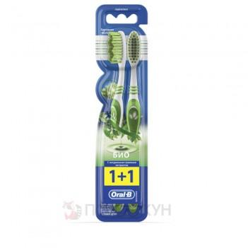 Зубна щітка Середня жорсткість Біо Oral-B