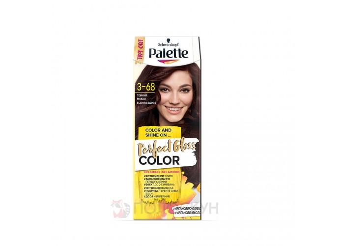 Фарба для волосся Темний мокко РGС 3-68 Palette