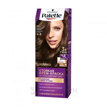 Фарба для волосся G3 (4-5) Золотистий трюфель Palette