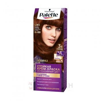 Фарба для волосся LW3 (6-68) Гарячий шоколад Palette