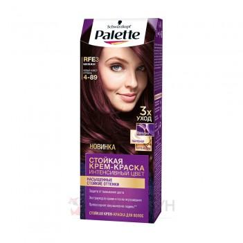 Фарба для волосся RFE3 (4-89) Баклажан Palette