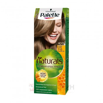 Фарба для волосся Фіто №400 Середньо-русявий Palette
