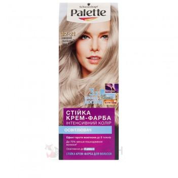 Фарба для волосся №12-21 Попелястий срібний блонд Palette