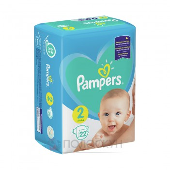 Підгузки-трусики N2 Newborn Pampers
