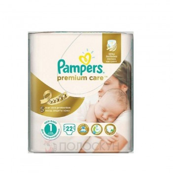 Підгузки N1 Premium Newborn Pampers