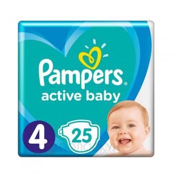 Дитячі одноразові підгузки-трусики Active Baby (9-14 кг) N4 Pampers