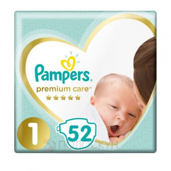 Дитячі підгузки Premium Care Newborn N1 2-5 кг Pampers