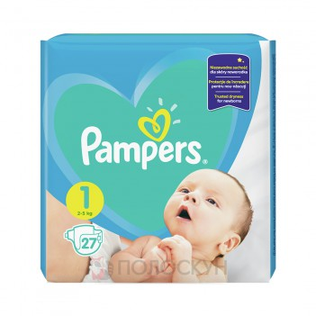 Підгузки-трусики N1 Newborn Pampers