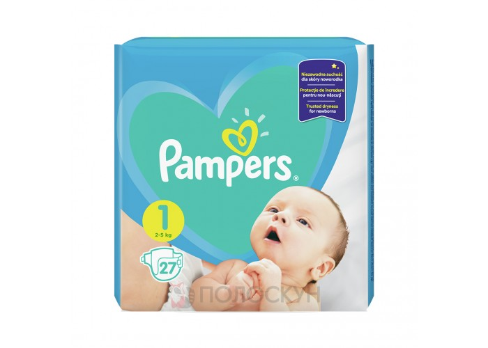 Підгузки-трусики N1 Newborn Pampers