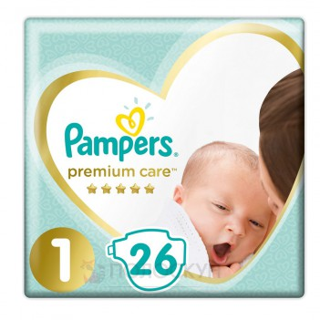 Підгузки Premium NewBorn N1 Pampers