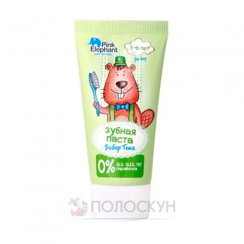Зубна паста для дітей Бобер Тьома Pink Elephant