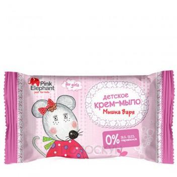 Дитяче мило Мишка Варя Pink Elephant