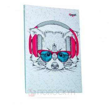 Блокнот Music note raccoon A5 ТМ Profiplan