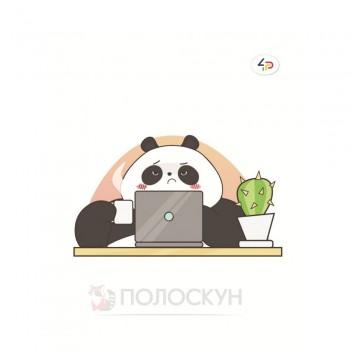 Блокнот  panda at work В6 ТМ Profiplan