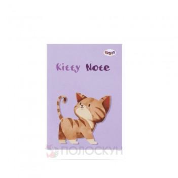 Блокнот Kitty note B6 lilac ТМ Profiplan