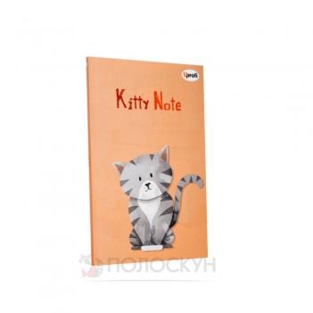Блокнот Kitty note B6 light pink ТМ Profiplan