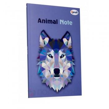 Блокнот Animal note (violet) В6 Profiplan