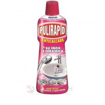 Засіб для сантехніки Антивапняний з оцтом Pulirapid