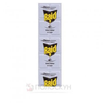 Пластини проти мух Raid