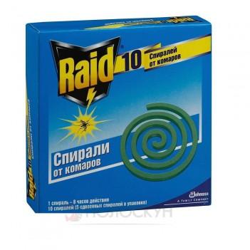 Спіраль проти комарів Raid