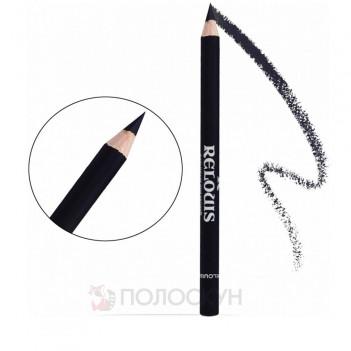 Олівець для брів з щіточкою №02 Темно-серій Relouis