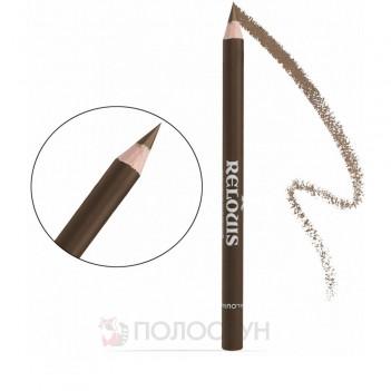 Олівець для брів з щіточкою №03 Пісочний Relouis