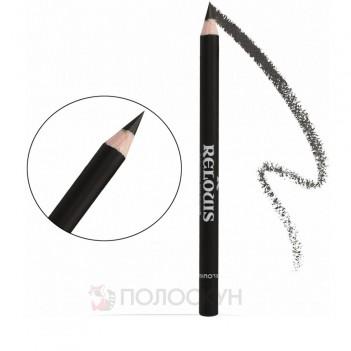 Олівець для брів з щіточкою №04 Чорний Relouis