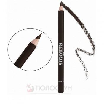 Олівець для брів з щіточкою №05 Шоколад Relouis