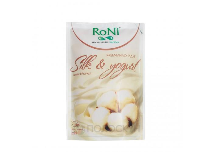Крем-мило Silk and yoghurt RoNi