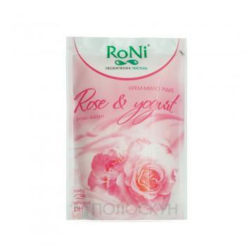 Крем-мило Rose and yoghurt RoNi