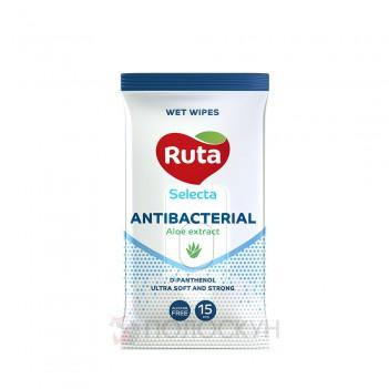 Антикбатеріальні вологі серветки Ruta