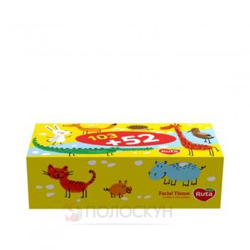 Дитячі косметичні серветки в коробці Ruta