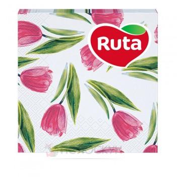 Серветки до столу 3 шари 33х33 см Весняна палітра Ruta