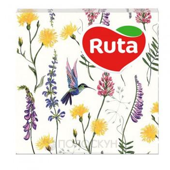 Серветки до столу 33х33 Тришарові Весняна мелодія Ruta