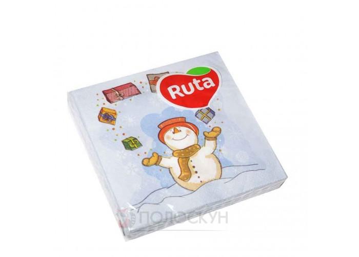 Столові серветки Веселий сніговик Ruta