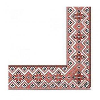 Серветки столові Вишиванка тришарові Silken
