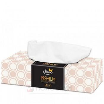 Серветки гігієнічні Premium у плівці Міні коти двошарові Silken