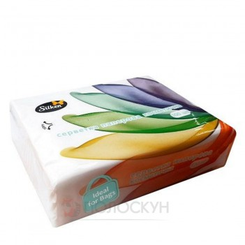 Сервеки до столу Міні барви двошарові Silken