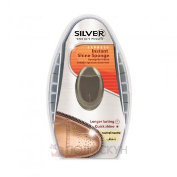Губка-блиск з дозатором Silver