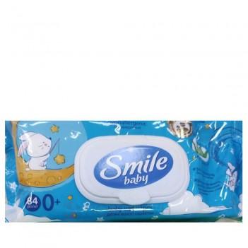 Вологі серветки Алоє Smile