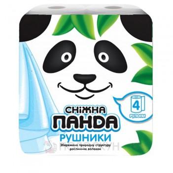 Паперові рушники Сніжна панда 2 шари Сніжна панда