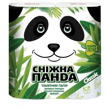 Туалетний папір Classic Сніжна панда