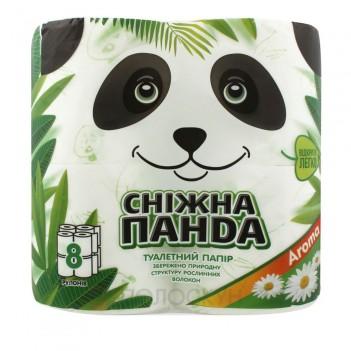 Туалетний папір Aroma Сніжна панда