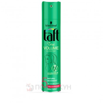 Лак для волосся Мегафіксація №5 Об'єм Taft