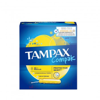 Тампони Compac Regular Tampax